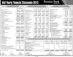 report financial report