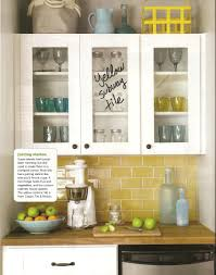 yellow subway tile was featured in hgtv magazine i u0027m in love with