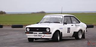 90 Ford Escort Escort Mk2 2 0 Pinto Rally Car
