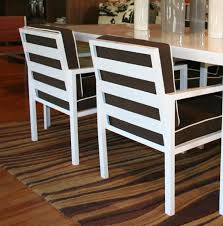 Metal Outdoor Dining Chairs Dining Room White Outdoor Chairs Patio Table And Onsportz Com