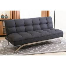 Convertible Sofa Queen Click Clack Sofa Bed Queen Wayfair