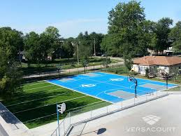 Backyard Basketball Court Custom Basketball Court Versacourt Indoor Outdoor Backyard