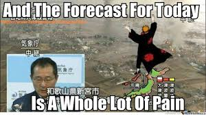 Funny Weather Memes - weather report pain by tendo pain meme center