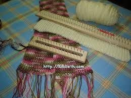 bufandas mis tejidos tejer en navidad manualidades navidenas bufanda cómo tejer bufandas en telar el blog de lula