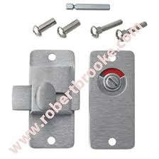 Commercial Bathroom Stall Latches Partition Slide Bolt Latch W Indicator Cast Stainless Steel