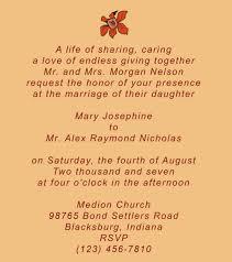 exles of wedding invitations wedding invitations exles wedding invitation