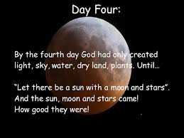 what day did god create light sophie b creation powerpoint