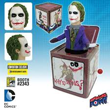 the joker pops out as convention exclusive jack in the box