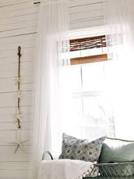 Hanging Curtains High Palmer Weiss Media Room Love The Window Treatment For Basement
