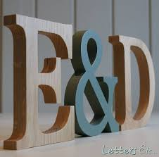 wooden letters traditional oak by letters etc notonthehighstreet com