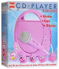 cd player kinderzimmer busch 2739 cd player für kinder verschiedene spielwaren