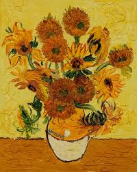 Sunflower Rugs Vase With Fifteen Sunflowers Vincent Van Gogh Vincent Van Gogh
