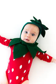 baby costume strawberry baby costume say yes