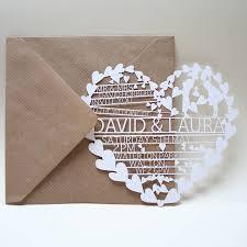 laser cut wedding programs hearts laser cut wedding invitation wedding laser cut wedding