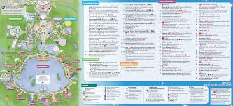 Magic Kingdom Disney World Map by Walt Disney World Maps