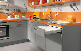 deco cuisine orange orange decorer sa maison fr