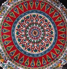 indian mandala pouf cushion covers
