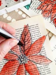 Upcycle Old Books - easy and beautiful diy projects made with old books vintage
