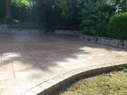 printed concrete patios gallery dcs