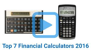 top 7 financial calculators of 2016 video review