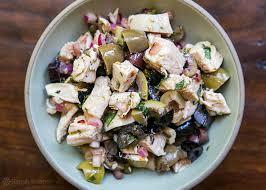 Mediterranean Style Chicken Recipe Mediterranean Chicken Salad Recipe Simplyrecipes Com