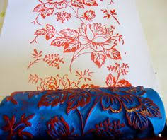 paint rollers with patterns sea rose patterned paint roller and applicator set for the