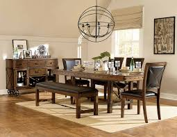 trestle dining table set homelegance urbana trestle dining set burnished brown 5179 dining