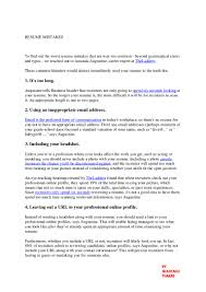 Resume 1 Or 2 Pages Resume Mistakes Done By You That Can Send Your Resume To The Trash B U2026