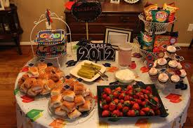 food ideas for graduation open house