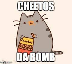 Cheetos Meme - pusheen stole the cheetos meme generator imgflip