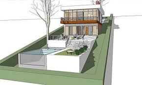 hillside cabin plans slope home designs home designs island home designs