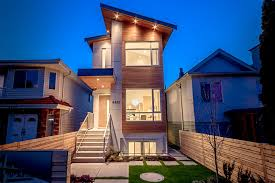 modern narrow house narrow modern vancouver houses