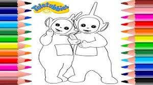 hmongbuy net teletubbies coloring pages dipsy laa laa