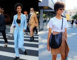 nyfw black women street style hairstyles 2017 spring hairstyles