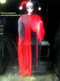 harley quinn arkham ghost prop halloween decoration gotham six