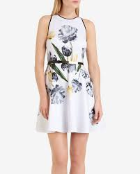where to buy petals ted baker symone paper petals skater dress where to buy how to