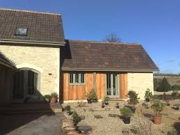 barn style new build grittleton charles manning