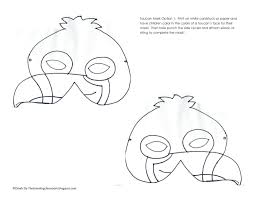printable toucan craft template pictures to pin on pinterest