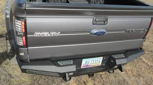 Ford F150 Truck Bed - f150 series honeybadger rear bumper w tow hooks off road bumpers