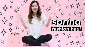 massive korean fashion try on haul youtube