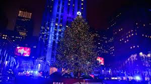 rockefeller center tree lighting what to am new york