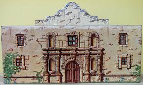 alamo floor plan 1836 marx western playsets clip art library