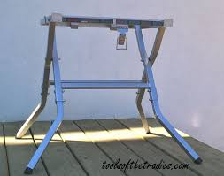 Folding Table Saw Stand Stand Support Tools Of The Tradies