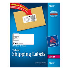 avery label 5263 template avery trueblock white laser shipping labels 2 x 4 pack of 250 by