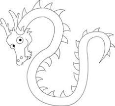 chinese dragon coloring pages printable artsy cakes pinterest