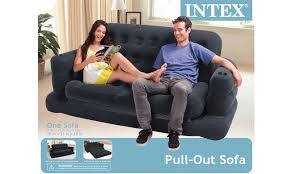 Air Bed Sofa Sleeper Intex Pull Out Sofa Sleeper Black