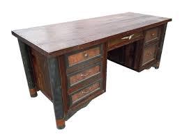 Rustic Wood Office Desk Computer Desk Reclaimed Wood Office Table Rustic Inside