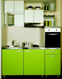 magnificent sleek green kitchen design ideas architecture