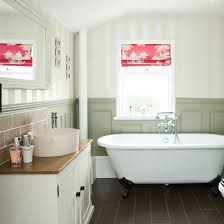 country bathrooms ideas add a shot of colour and add interest to your bathroom with a