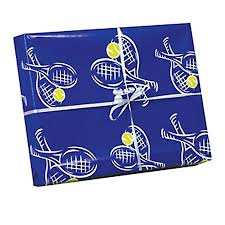 navy blue wrapping paper tennis wrapping paper two 20 in x 30 in sheets